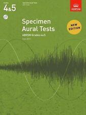 ABRSM Specimen Aural Tests Grades 4-5 Book/2CD's - Same Day P+P