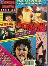 REVUE : SCENIC STARS SPECIAL N°4H THE JACKSONS MICHAL JACKSON sans poster
