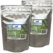 2 Pounds - Calcium Sulfate Dihydrate - Gypsum - Fine Powder