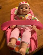 "20"" Cititoy 2012 Baby Doll in Target Levatoy Carrier"