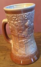 FENTON MUG CHOCOLATE SLAG GLASS