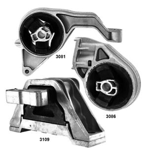 Engine Motor Mount & Auto. Trans, Mounts 3Pcs Set fo Chevrolet Cobalt, HHR