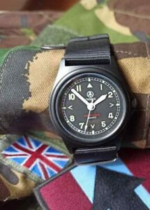 Cooper Pathfinder G10 Field Military army Watch - Black PVD finish