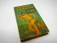 TARZAN AND THE JOURNEY OF TERROR Better Big Little Book ERB 1950