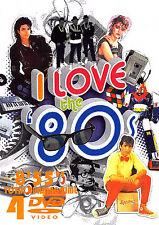 I LOVE THE 80'S VOL. 2 120 MUSIC VIDEOS 4 DVDS Pop Rock Ballads Oldies 80s Video