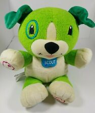 Leap Frog My Pal Scout Interactive Talking Puppy Dog Plush Stuffed Educational