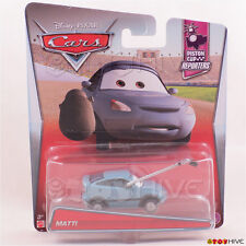 Disney Pixar World of Cars 2016 Matti - Piston Cup Reporters Collection 7 of 10