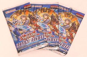 Yu-Gi-Oh! Destiny Soldiers 3 Booster Packs Deusche Ausgabe - 1. Auflage NEU