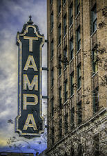 "Tampa Theater Travel Fridge Magnet 3.25""x2.25"" Collectibles (PMD10012)"