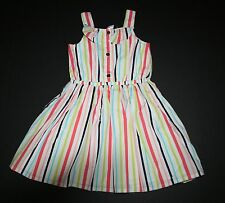 New Gymboree Tropical Striped Ruffle Summer Sun Dress Size 4T NWT Sunny Safari