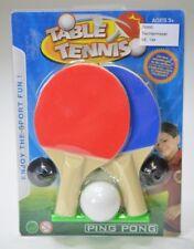 4x Tischtennis Set klein PingPong Reisespiel Mitgebsel Kindergeburtstag Büro Neu