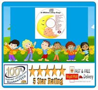 Children's Songs Nursery Rhymes Soothing Baby Sleep Aid Relax Peaceful Sleep CD