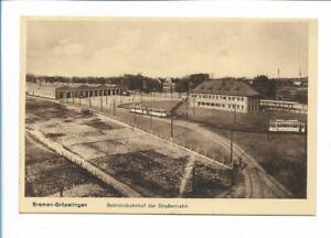 XX14104/ Bremen Gröpelingen Betriebsbahnhof der Straßenbahn AK ca.1925