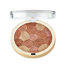 MILANI Illuminating Face Powder Highlighter-Bronzer-Blush- 02 Hermosa Rose VEGAN