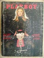 Playboy Magazine-November 1972-Lenna Sjooblom centerfold