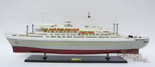"SS Rotterdam 36"" Holland America Cruise Ship Model Fully Assembled"