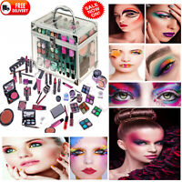 Technic Large Essential Cosmetics Clear Case Girls Ladies Make Up Gift set New