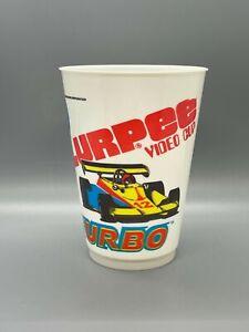 Vintage 7-11 7-Eleven Slurpee Video Arcade Cup 1981:  TURBO