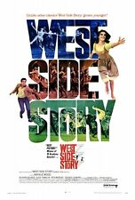 "WEST SIDE STORY Movie Poster [Licensed-NEW-USA] 27x40"" Theater Size (1961) ALT1"