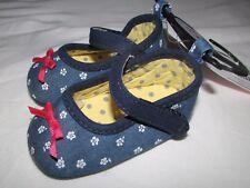 Nuevo Bebé Zapatos de cochecito 3-6 meses Marks & Spencer Estampado Floral