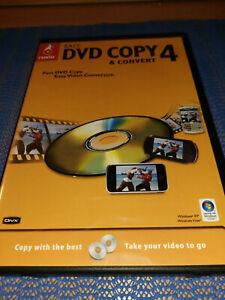 ROXIO - EASY DVD COPY & CONVERT 4 - PC DVD COPYING - COPIER SOFTWARE