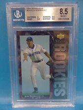 1994 Upper Deck #24 Alex Rodriguez Rookies Beckett 8.5 NM-MT+ Baseball Card
