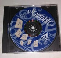 Scrabble CD-Rom Crossword Game hasbro Interactive vintage 1996 Excellent Cond.