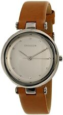 Skagen Women's Tanja SKW2455 White Leather Quartz Fashion Watch