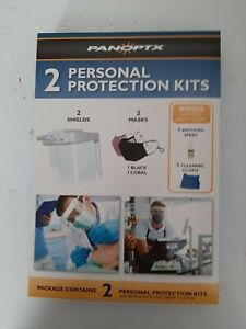 2 PERSONAL PROTECTION KITS with BONUS ANTI-FOG SPRAY+CLOTH. Fifty (50) for sale.