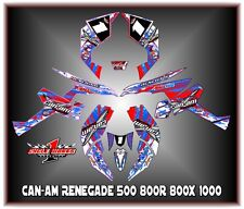Can-Am Renegade 500 800r 800x 800xc1000  SEMI CUSTOM GRAPHICS KIT Patriot1