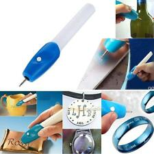 Electric Etching Engraving Engrave Carve Tool Steel Jewellery Engraver Pen Kit