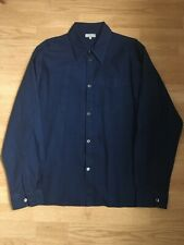 Margaret Howell main line blue cotton shirt - gently used - size Large