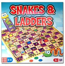 Snakes and Ladders Traditional Children's & Family Board Game Kids & Adults Toy