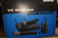 Shure UC24/BETA58-UA Handheld Wireless System. BRAND NEW!