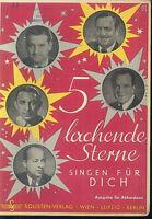 """"""" 5 lachende Sterne singen für DICH """""""