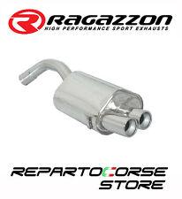 RAGAZZON SCARICO TERMINALI TONDI 2x80 ALFA ROMEO 147 GTA 3.2 V6 24V 184kW 250CV