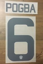 Official Adidas Manchester United 3rd FA Europa Cup Nameset POGBA 6 2016/17