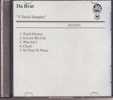 da brat 5 track sampler cd promo
