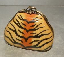 New Leopard Bag, Limoges Box Number 46 New