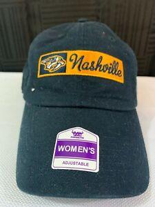 Nashville Predators Women's Ball Cap Navy Adjustable