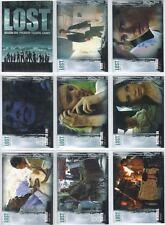 LOST season 1 saison 1 Basic set complet Inkworks 90 trading cards