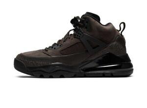 "Jordan Spizike 270 Boots ""Dark Cinder"" Brown  CT1014 200 Men's Size 10 NEW"