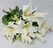 ARTIFICIAL FLOWER MIXED LILY BUNCH