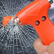 2 in 1 Car Glass Window Breaker Emergency Hammer Seat Belt Cutter Ornate CCH48