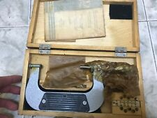 New Ussr Thread Pitch Micrometer 75 100mm Gewindemikrometer With Anviltip