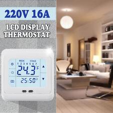 Digital Indoor Floor Heating Thermostat LCD Display Temperature Controller