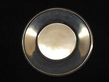 """Vintage 800 Silver Dish 4-7/8"""" Unknown Hallmark Stamped 56 grams"""