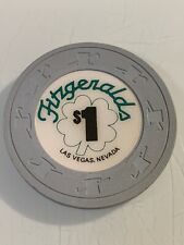 New listing Fitzgeralds $1 Casino Chips Las Vegas Nevada 3.99 Shipping