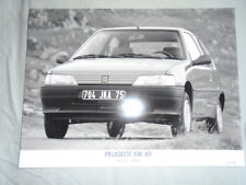 Peugeot 106 XR Press Photo 1991 German text