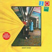 10CC Sheet Music Yellow Vinyl Record 180g LP Gatefold Classic 2nd Album